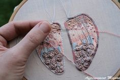 wip beetle round 2! A romantic beetle this time with roses and filigree lace:) edhelwen