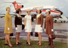 Stewardess in the past