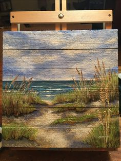 A new seascape by JKCARTER. Acrylic on board. SOLD.