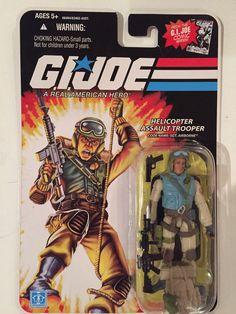 "G.I. Joe Helicopter Assault Trooper Sgt Airborne 4"" Figure 2008 Comic Series #Hasbro"