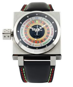 """Azimuth King Casino Watch - by Rob Nudds - see & read more on aBlogtoWatch.com """"The Azimuth King Casino is sure to divide opinion. More sculpture than timepiece, this roulette-inspired wristwatch is part tool, part toy. If you're not familiar with the brand, this model may shock you, but rest assured, Azimuth have previous experience in the bizarre. Where most brands might look to establish a solid set of design principles and stick to them, Azimuth takes an almost inverted approach..."""""""