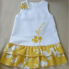 {Customary and custom baby housecoat, offers the best solution. Girls Frock Design, Kids Frocks Design, Baby Frocks Designs, Baby Dress Design, Frocks For Girls, Dresses Kids Girl, Kids Outfits, Baby Girl Dress Patterns, Baby Sewing