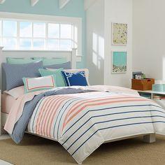 Nautica Staysail White Comforter & Duvet Set