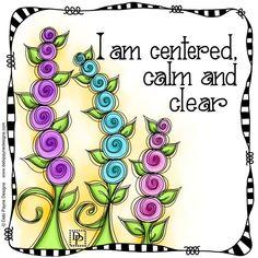 I am by Debi Payne Little Buddha, Flower Doodles, Bible Art, Art Journal Inspiration, Art Journal Pages, Positive Affirmations, Positive Thoughts, Doodle Art, Word Art