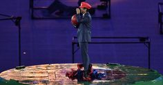 Japanese prime minister as Mario is everyone's Olympic dream  #Mario