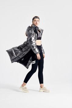 Warm Down, Sport Style, Sport Fashion, Punk, Coats, Photo Illustration, Wraps, Punk Rock, Cape