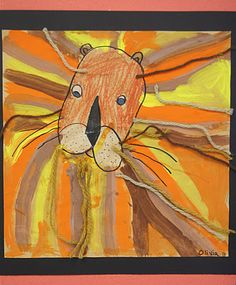 art blog for my K's.....love this and there is a cute giraffe and a cute elephant ;)