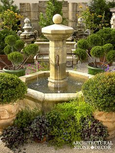 #antique #hand #carved #limestone #stone #pool #fountain #provence #beautiful #design