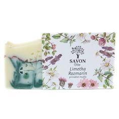 Přírodní mýdlo Limetka Rozmarýn Savon - Krásná Každý Den Soap