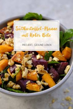 Healthy through the working week with US sweet potatoes - weekly schedule with 7 recipes and shopping list - project: Live healthily Clean eating, fitness & relaxation - Salad Recipes Salad Recipes Healthy Lunch, Salad Recipes For Dinner, Chicken Salad Recipes, Easy Salads, Healthy Salad Recipes, Lunch Recipes, Vegetarian Recipes, Pasta Recipes, Salads For A Crowd
