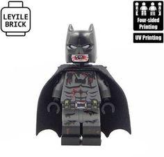 Custom LEGO Castle//Knight//Minifigure Black Ching Dynasty Army Armor Breastplate