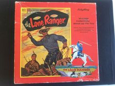 THE LONE RANGER SCHYLLING WIND UP TIN TOY W/LIMITED EDITION CERTIFICATE  BOX…