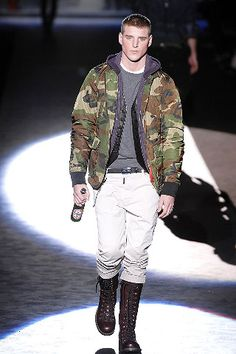Dsquared² Fall 2008 Menswear - Collection - Gallery - Look 1 - Style.com