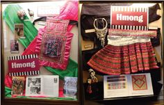 Hmong Culture & History display @ George Latimer Central Library