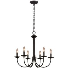 Lowe's chandelier $79 - for dining room