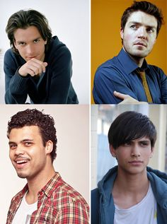 the musketeers bbc , un-musketeered! Still very cute, but they look so much younger here I almost feel creepy