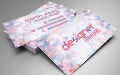 Art and Design Business Card by martinemes.deviantart.com on @DeviantArt