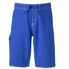 Men's Dolfin Fitted Board Shorts, Size: 40, Blue Other