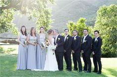 Bridal Party Wedding Couple Shoot | Alexandra Graham Photography