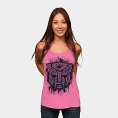 Transformers T-Shirt Autobots Iconic Racerback By Djkopet  http://ragebear.com/to/transformers-t-shirt-icon-women