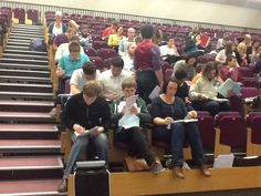 Welcome to the PGCE - first arrivals completing documentation