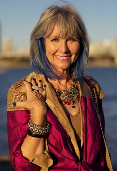 Advanced Style / Over 50 -  Age has nothing to do with accessory selections, express your  individual style!