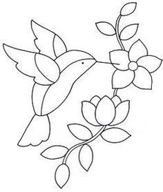 Excellent Pic Embroidery Patterns printable Ideas So you have mastered all of t. Excellent Pic Embroidery Patterns printable Ideas So you have mastered all of the primary involvin Stained Glass Birds, Stained Glass Patterns, Mosaic Patterns, Flower Patterns, Beading Patterns, Quilt Patterns, Glass Painting Patterns, Glass Painting Designs, Hand Embroidery Stitches