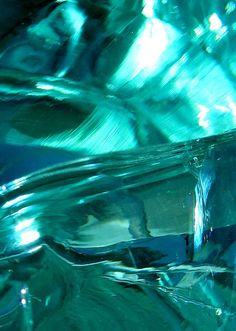*AQUA ~ Teal glass study #1 by Ardent Eye, via Flickr