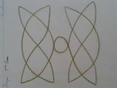 Celtic knot form drawing