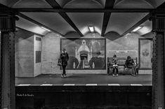 """ph. © Alessandro Dena """" Subway station. Berlino."""""""