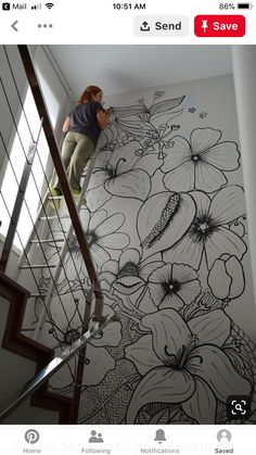 Mama Josefa: My vertical garden Related posts:Leather RhombsPlanets and Solar System Wall muralRed Poppies - Large Wall Mural, Self-adhesive Vinyl Wallpaper, Peel & Stick fabric wall decal Wall Painting Decor, Mural Wall Art, Diy Wall Art, Wall Art Decor, Painted Wall Art, Simple Wall Paintings, Diy Wand, Mur Diy, Wall Drawing