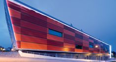Sunfilm Solar Factory. Hunter Douglas Façade. Architect/Specifier: IPRO Dresden Planungs.  #facades #materials #colours