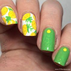 Revamped Pineapple Nails - 25 Sweetpeas