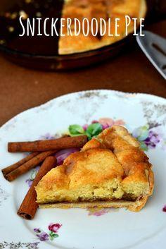 snickerdoodle pie