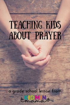 Teaching Kids About Prayer large group lesson and prayer station activities. Kids Church Lessons, Kids Sunday School Lessons, Sunday School Activities, Bible Lessons For Kids, Kids Church Crafts, Youth Group Lessons, Sunday School Crafts For Kids, Youth Groups, School Kids