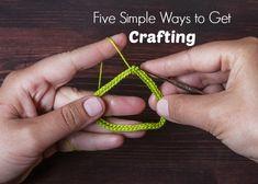 5 simple crafts to get you started! Beginner crafts for homesteaders. Get crafting!