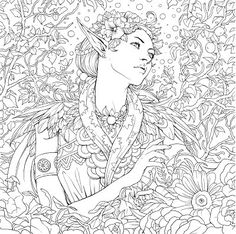 Fantasia: Adult Coloring Book