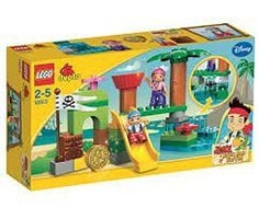 Game  Play LEGO 10513 Never Land Hideout Accessories include a gold doubloon and Tiki and flag Toy  Child  Kid ** Details can be found by clicking on the image.