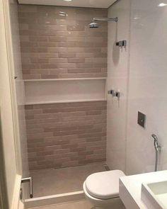 Tiny House Bathroom, Bathroom Design Small, Studio Apartment Layout, Minimal Bathroom, Deco Furniture, Bathroom Inspiration, Bathroom Interior, Kitchen Decor, Interior Decorating