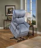 Med Lift  1155 Dawson Blue Power Lift and Recline Chair