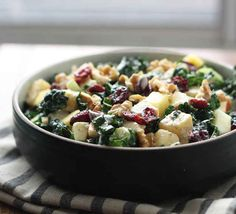 Sweet and Nutty Kale Salad | 33 Delicious No-Cook Dishes To Bring To A Holiday Party