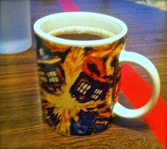 Best Birthday Gift Ever--Doctor Who Exploding TARDIS Mug Small Gifts For Men, Best Birthday Gifts, Tardis, Stocking Stuffers, Doctor Who, Nerd, Mugs, Best Anniversary Gifts, Best Birthday Presents