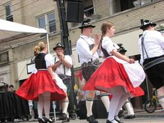 The Donauschwaben Schuhplattlers at the Price Hill Cultural Heritage Fest.