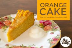 Orange Cake - Easy to make and tasted delicious. Will definitely make again. (Gluten-free, Dairy-free, Refined sugar-free)
