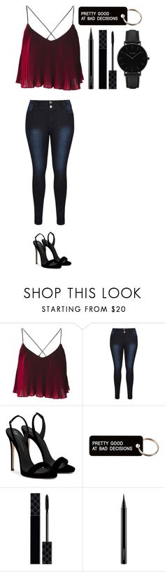 """""""Untitled #525"""" by dutchfashionlover ❤ liked on Polyvore featuring Giuseppe Zanotti, Various Projects, Gucci, MAC Cosmetics and CLUSE"""