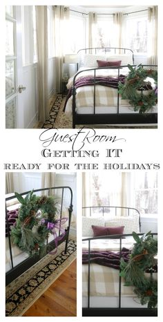 guest-room readiness for the holidays