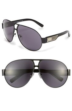 AX Armani Exchange Aviator Sunglasses available at Nordstrom
