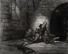 gustave dore inferno | The Inferno, Canto 33 - Gustave Dore - WikiPaintings.org