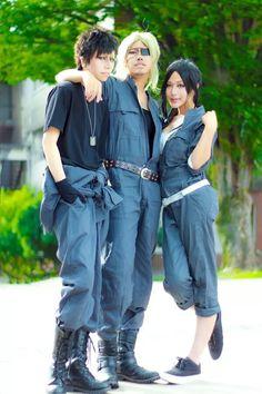 yuuma(佑真) Worick Arcangelo, Nicolas Brown, yuzuru(ゆづる) Alex Benedetto Cosplay Photo - WorldCosplay