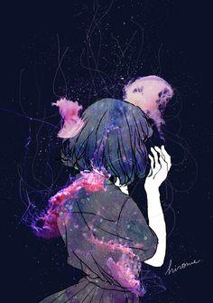 ¦Beautiful art 4 all of u¦ Amazing Drawings, Amazing Art, Art Drawings, Emo Anime Girl, Arte Disney, Digital Art Girl, Pastel Art, Anime Scenery, Pics Art